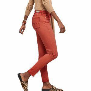 NWOT AG Jeans Prima Sateen Skinny Pants